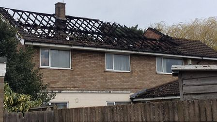 Morning after fire at former care home in Gorleston