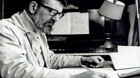 Composer Tristram CaryHe composed music for Doctor Who