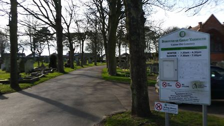 Great Yarmouth (Caister) Cemetery, where Rupert Cook is buried. Photo: George Ryan