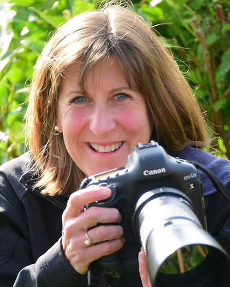 Wymondham photographer Sarah Darnell who was highly commended in the Mammal Society's photographic c