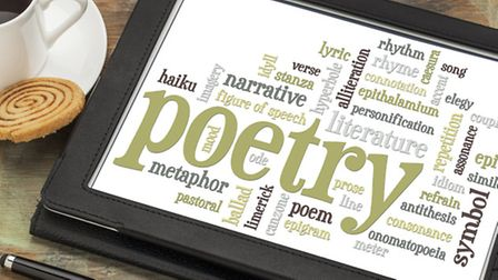 Poetry word cloud. Photo: Getty Images.