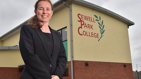 Sewell Park College headteacher Penny Bignell. Picture: ANTONY KELLY