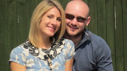 Jessica Reimer, 34, and her fiancé Edward Blanch, 29, had been visiting Norwich on Friday, April 1 t