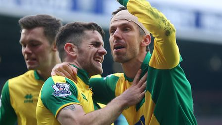 Norwich Citys players can defy the doubters in the relegation fight. Picture by Paul Chesterton/Focu