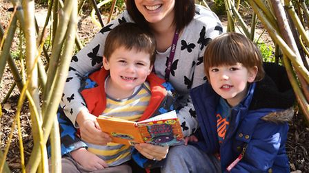 Treetops Day Nursery in Martham which has been rated Outstanding by Ofsted.Helen Wheatley with Quinn