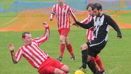 Anglian Combination Premier Division - Acle United v Norwich Ceyms.PHOTO BY SIMON FINLAY