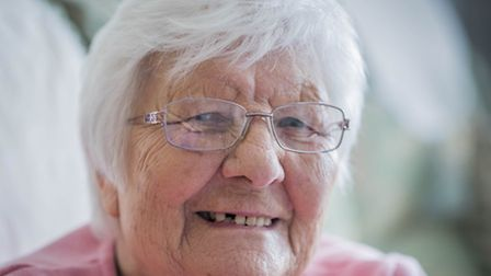 Joan King from Necton is celebrating her 90th Birthday on Thursday, the same day as the Queens. Joan