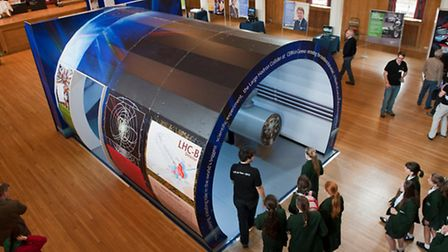 The replica of the Large Hadron Collider