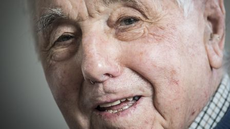 Soon to be 90 year old Raymond Wilson from Welney, will be lighting the beacon to mark the Queen's 9