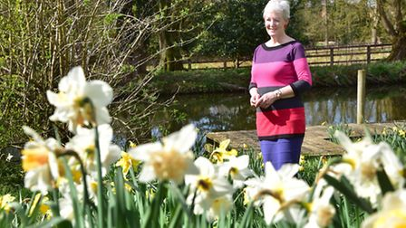 Rachel Woods opens up her garden in Thetford again to raise money from visitors for St Nicholas Hosp