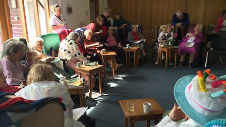 The Hopton and District Day Centre has celebrated its 25th anniversary.