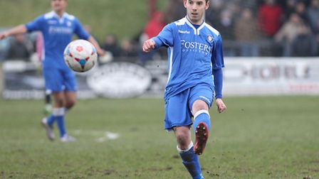Adam Smith could be one of five injury absentees for Lowestoft at Gainsborough. Picture: FOCUS IMAGE