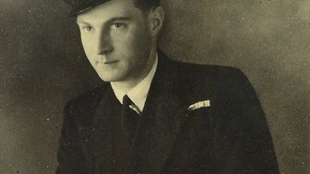 John pictured during his service days.