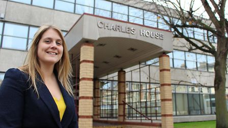 Charles Darwin Primary principal Jo Brown at Charles House, Rose Lane, Norwich.The new primary schoo