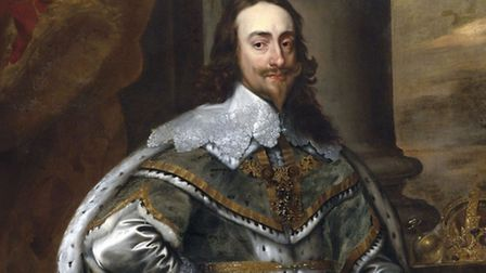 Portrait of King Charles I by Anthony van Dyck. Attribution: After Anthony van Dyck [Public domain],