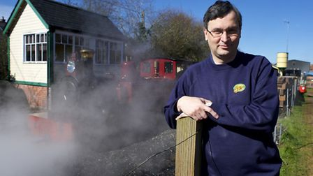 Andrew Barnes MD of the Bure Valley Railway. Picture: MARK BULLIMORE