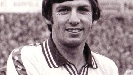 Martin Peters in his Norwich City heyday. Photo: EDP Library