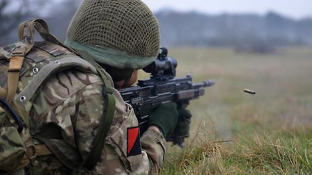 Troops from 13 Air Assault Support Regiment Royal Logistic Corps and 8 Field Company (Para) and 7 Ai