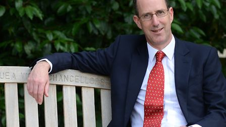 Professor David Richardson, who has been named as chairman of Norwich Research Park.