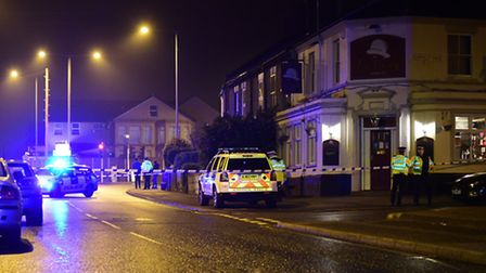 RTC on Magdalen Road, Norwich.Picture: ANTONY KELLY