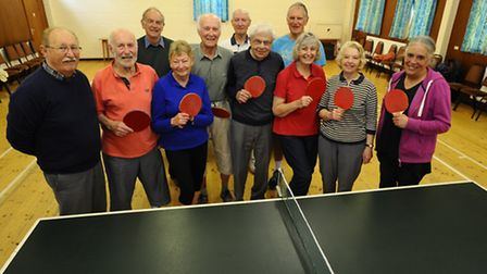 A group of table tennis players in Weybourne are planning to have a six hour table tennis marathon t