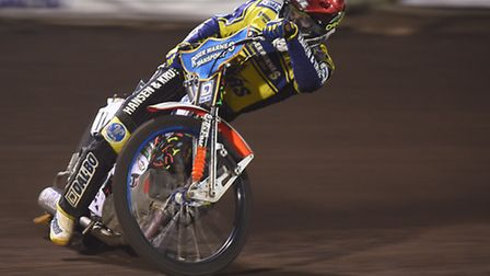 Niels-Kristian Iversen will be one of the riders on show this evening. Picture: IAN BURT