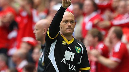 Alex Neil led City to Wembley joy can he now seal survival? Pictures: Focus Images and Press Associ