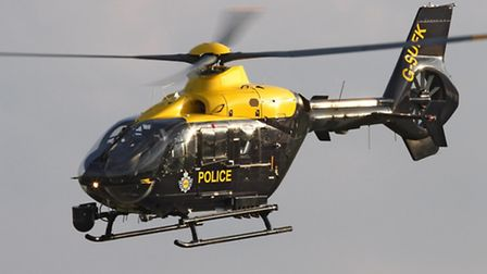 The NPAS helicopter from Wattisham was called.