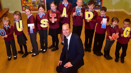 Alburgh with Denton Primary School has been rated outstanding by Ofsted. Headteacher Joel Crawley wi