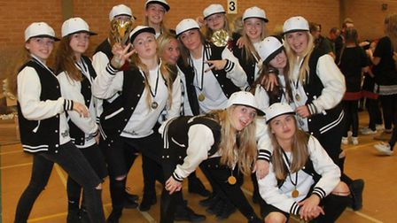 Diss-tinction dance crew are members of LK's School of dance and will be competing at the European S