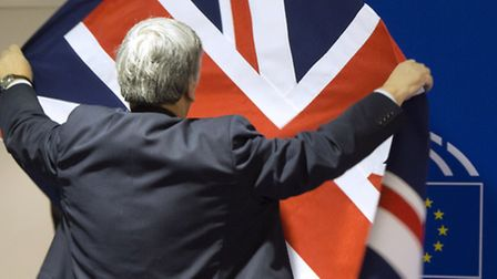 The EU referendum has divided the Government. (AP Photo/Virginia Mayo)