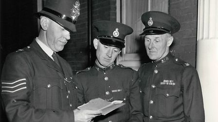 Norwich police in the 1960s (FOA, March 5). John Hession, emailing from Germany, was pleased to see