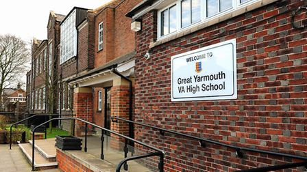 Great Yarmouth High School.Picture: James Bass