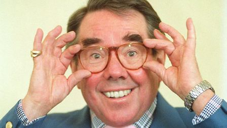 Comedian Ronnie Corbett pictured in 1995. Photograph by Fiona Hanson/PA