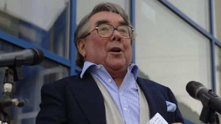 Ronnie Corbett opens the new lifeboat museum in Cromer.