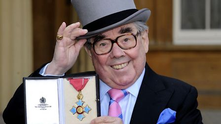 File photo 16/02/12 of comedian Ronnie Corbett after he received his Commander of the British Empire