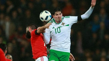Kyle Lafferty suffered a groin injury whilst on international duty with Northern Ireland.