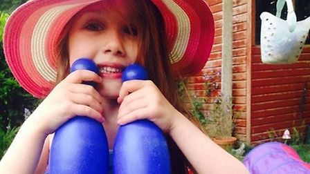Summer Grant, seven, from Norwich, killed when a bouncy castle she was on in Harlow blew 150m in the