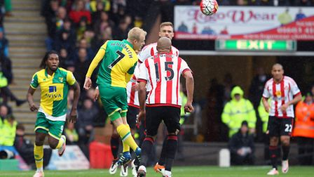 Steven Naismith is one of four Norwich City players called up for international duty. Picture by Pau