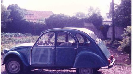 Mike Pennock bought a Citroen 2CV because it was cheap but still looks back on his first car with gr