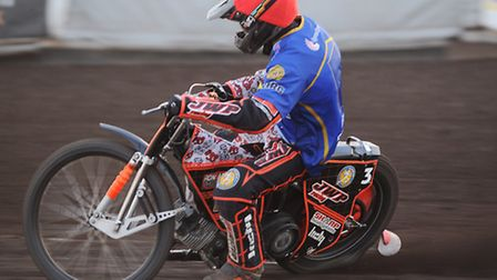 Sam Masters pictured while guesting for King's Lynn. Picture: IAN BURT