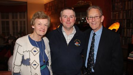 GOLD STARS: Retiring Committee member Peggy Webster, and her husband, Cromer RNLI Station chairman,