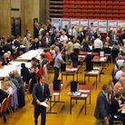 Norwich City Council election count at St.Andrews Hall in Norwich 2010