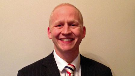 Craig Rivett, the new Conservative district councillor for Wrentham ward in Waveney.