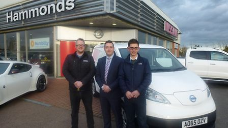 Adnams has ordered an e-nv200 all-electric van from Hammond Nissan for deliveries from its Southwold