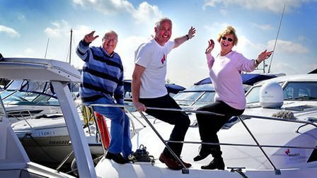 Launch of Benjamin Foundation's charity boating weekend. Benjamin Foundation marketing and fundraisi
