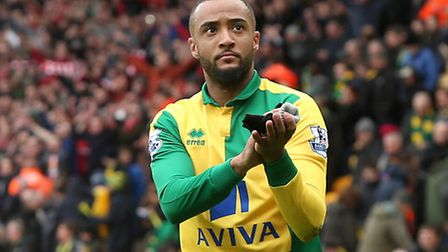 Norwich City winger Nathan Redmond is being linked with a summer switch to Stoke City. Picture by Pa