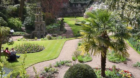The Plantation Garden has re-opened after being closed due to subsidence at a neighbouring property.