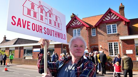 Local residents are campaigning to save Southwold hospital from being developed into flats. Laurence