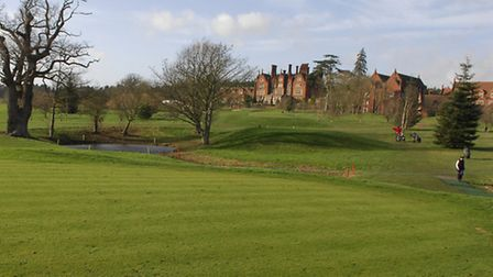 Picture for feature in EDP golf mag Fairway on the course at Dunston Hall which had to close last ye